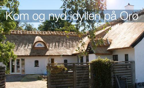 Kom og nyd idyllen på Orø i Marlieses Gårdcafe